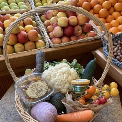 panier légumes - Les primeurs de Val-Sandre - Pugnac